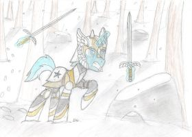 Slowcow Ice Scout (Request #2) by BrogarArts