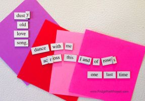 The Daily Magnet #156 by FridgePoetProject