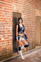 Yuffie Kisaragi: Advent Children by Anatyla
