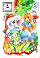 Alice in the Wonderland by TiRaPuW