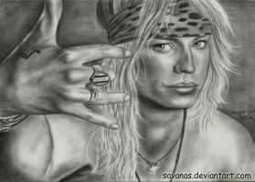 Bret Michaels by SavanasArt
