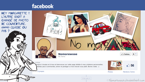 Facebook Cover by NomoreWose