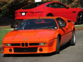 BMW M1 and F Type by CSX5344