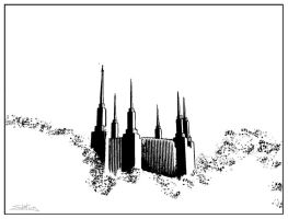 DC Temple Outline by skoticus