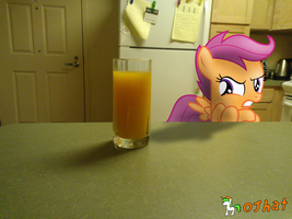That's not real orange juice! by OJhat
