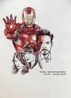 Iron Man by KseniyaART