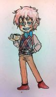 commission/gift: chibi 2p england by Sildesalaten