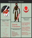 Darth Guranos Reference Sheet | STAR WARS by MitExcel
