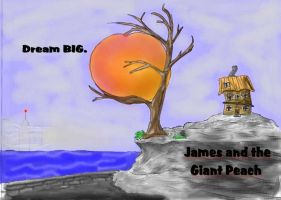 James and the Giant Peach by Wiltsgurl17