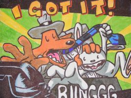 "Sam and Max ""I got it"" by asmodia255"