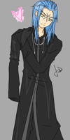 Saix Loves You by Grenadiier