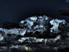 False cloudy night II by digitalminded