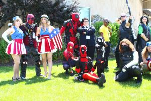 ColossalCon 2014 - Marvel Photoshoot 08 by VideoGameStupid