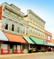 Downtown Bonaparte Iowa by moonlightrose44