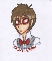TRADITIONAL: Gentleman Profile by InvaderIka