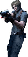 Leon Scott Kennedy Render 1 by snakeff7