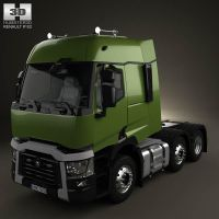Renault T Tractor Truck by humster3d