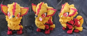 Commission: Blaze the Arcanine by Scarlet-Songstress