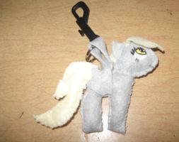 Derpy Hooves Keychain For Sale by IrashiRyuu