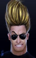 johnny bravo by saadirfan