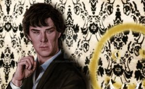 Smile Sherlock by Fereshteh