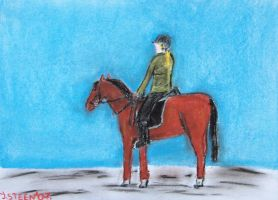Girl On A Horse 3 by GMAC06
