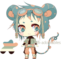 Adopt Auction: Mouse 01 CLOSED+Points added by Piffi-adoptables