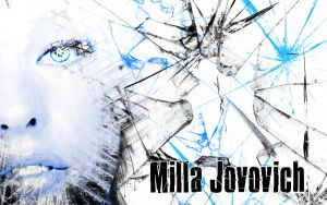 Milla Jovovich Wallpaper by CertainlyLostFameGal
