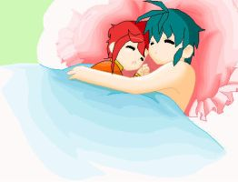 Phineas and Perry Sleeping by Rashuanu