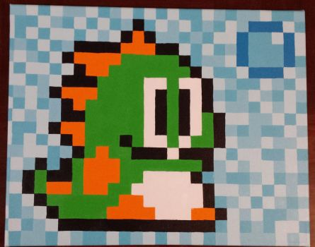 Green Bubble Bobble by BlackUmbral