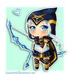 LoL :: Chibi Ashe by LuaSentinel