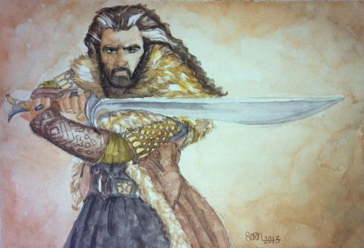 Thorin, son of Thrain by sofieoldberg