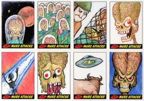 Heritage Mars Attacks! Sketch Cards - 09 by Monster-Man-08