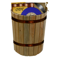 Steampunk recycle-bin full icon V2 by pendragon1966