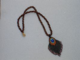 peacock feather by Autumn-beads