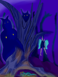 Forest scene final. by Envy-is-my-god