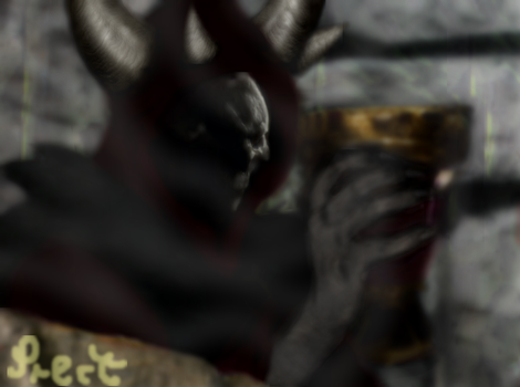 The Horned King by Prectarium93