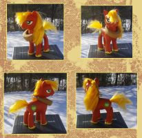 My Little Pony Big Macintosh Custom by kaizerin