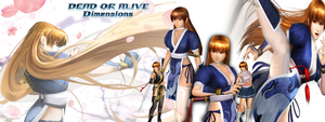 Dead or Alive - Kasumi Tribute by SilverMoonCrystal