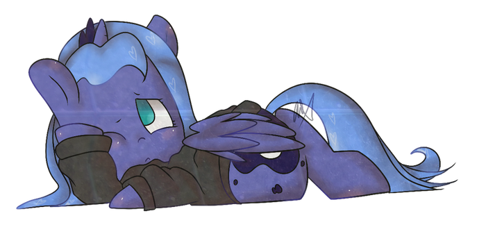 Lazy Woona by lunechapaillini