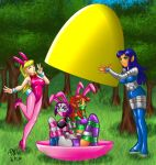 Raven and Starfire Easter Egg by ARNie00