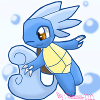 Wartortle request by AnaMarina22