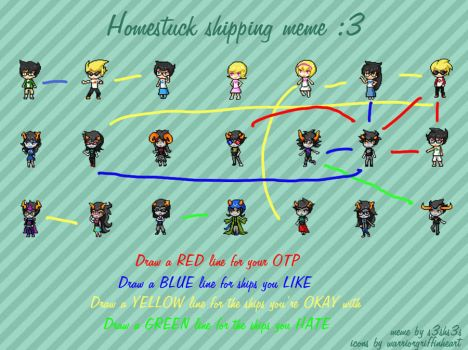 My Shippings Homestuck by KHIZSBNMP