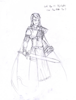 Captain Lehi Concept Sketch by Chaotic-Tide
