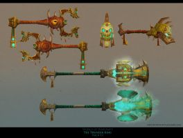 Thunder Island weapons by FirstKeeper