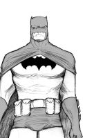 Batman without background. by leodeleao