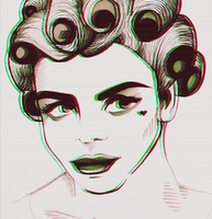 Marina and the Diamonds - 'Electra Heart' by Mangaeyes