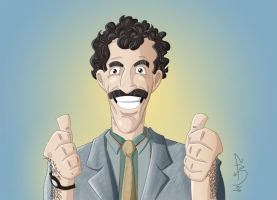 My name e Borat by fdiskart