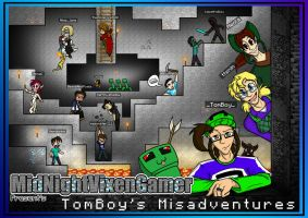 YouTube: TomBoy's Misadventures by MidNight-Vixen