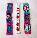 Doctor Who and Super Mario bracelets NOW ON ETSY!! by Ryvienna